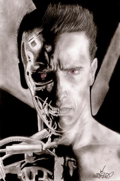 Arnold Schwarzenegger by Kage1.0